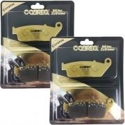 Pastilha de Freio Dianteiro Z750 Z-750 Cobreq 100% Cerâmica