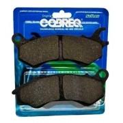 Pastilha de Freio Titan 150 EX CBS CG Titan 160 EX ESD 2015 até 2017 Cobreq