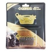 Pastilha Freio Traseiro CB 600 Hornet s/ ABS Cobreq Cerâmica