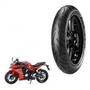 Pneu Dianteiro CBR 650F Pirelli 120/70ZR-17 Diablo Rosso 2