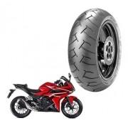 Pneu Traseiro CBR 500 R  Pirelli 160/60ZR-17 Diablo 69W