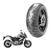 Pneu Traseiro NC 700 Pirelli 160/60ZR-17 Diablo 69W