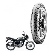 Pneu Traseiro Titan Fan 150 Pirelli 100/80-18 Super City TL 53p
