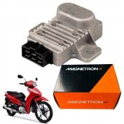 Regulador Retificador Biz 125 2009 até 2015 Magnetron