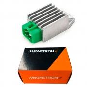 Regulador Retificador CG Fan 125 KS ES 2009 até 2013 Magnetron