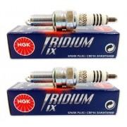 Vela Iridium CBR 500R CBR500R 500 R NGK CPR8EAIX9 - 2 Velas
