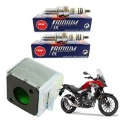 Vela Iridium NGK CB 500X CB500X 500 X + Filtro de Ar Original