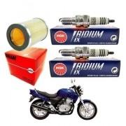 Vela Iridium NGK + Filtro de ar CB 500 1997-2005