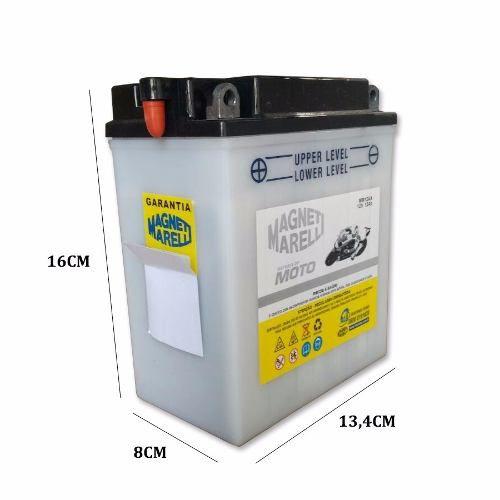 Bateria 12 Ah Amperes Cb 400 Cb 450 Magneti Marelli Original