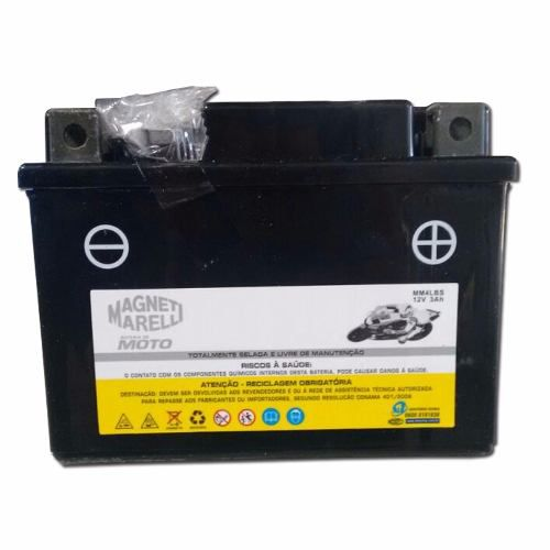 Bateria 3 Ah Amperes Biz 100 Es Ks Mm4lbs Ytx4lbs