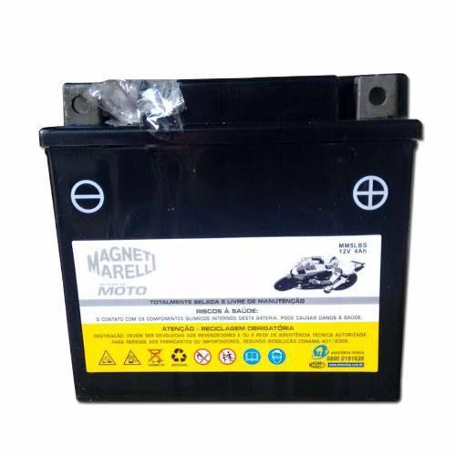 Bateria 4 Ah Amperes Biz 125 Ks 2006 Em Diante Mm5lbs Ytx5lbs