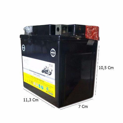 Bateria 4 Ah Amperes Biz 100 Es 2001 Em Diante Mm5lbs Ytx5lbs