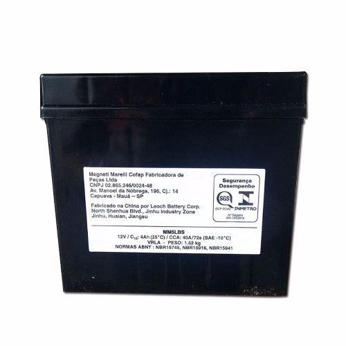 Bateria 4 Ah Amperes Web 100 Hunter 100 Mm5lbs Ytx5lbs