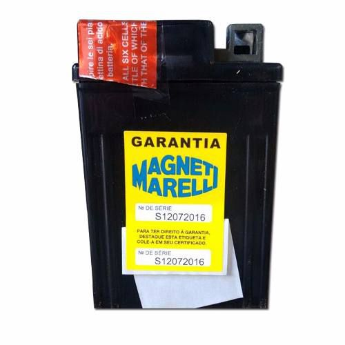 Bateria 4ah Amperes Pop 100 2007 Em Diante Mm5lbs Ytx5lbs
