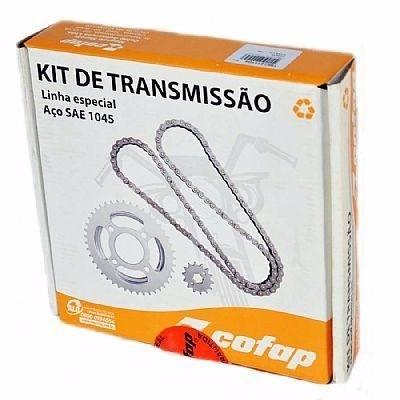 Kit Tração Relação Transmissão Cg Titan Fan 150 Cofap