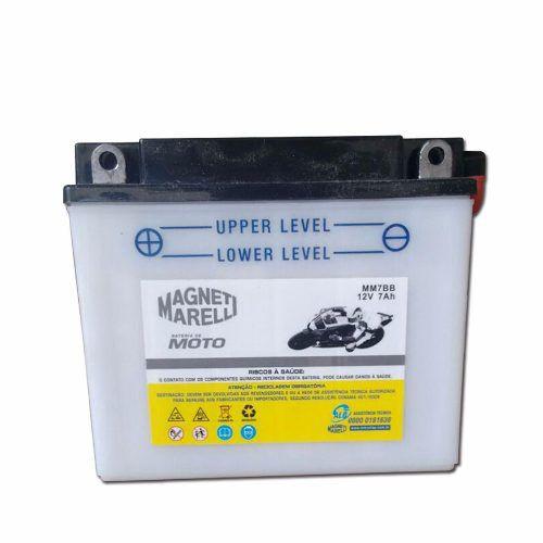 Bateria 7ah Ampere Nx 350 Sahara Strada 200 Mm7bb Yb7bb