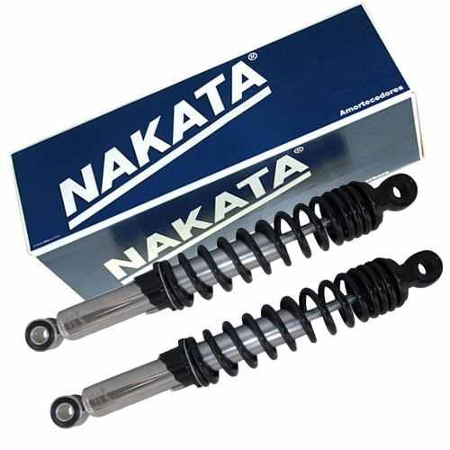 Par de Amortecedor Traseiro Factor Ybr 125 RD RDZ 125 Nakata