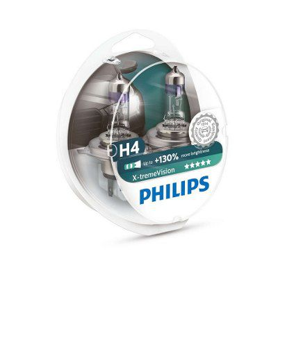 Lâmpada Philips Xtreme Vision Farol H4 60/55w Fazer 250 (Par)