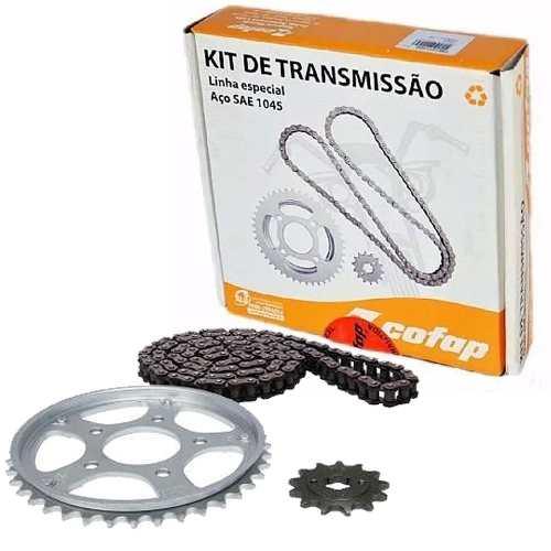 Kit Relação Transmissão Tração CBX 200 Strada Cofap