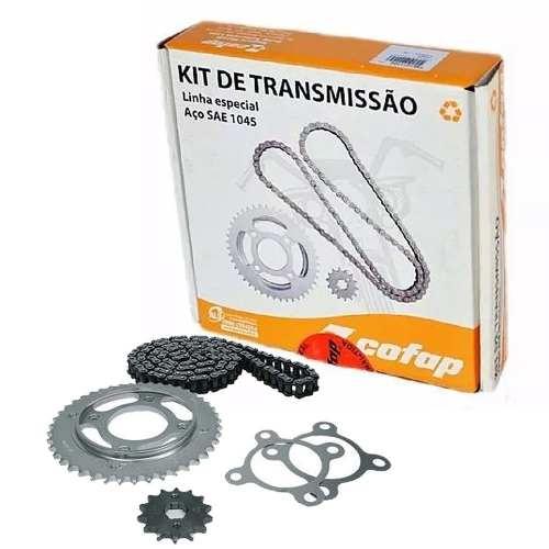 Kit Relação Transmissão Tração Titan 125 2000 até 2008 Fan 125 Cofap