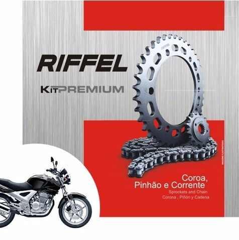 Kit Relação Transmissão Tração CBX 250 Twister Riffel