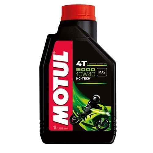 Oleo Motul 5000 10w40 Semissintético 4t Hc Tech 1 Litro