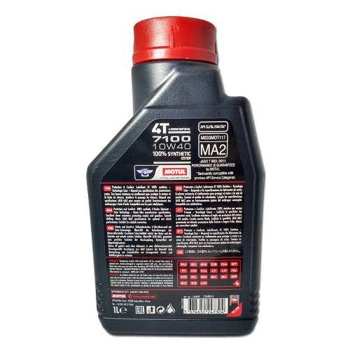 Oleo Motul 7100 10w40 100% Sintético Ester 1 Litro