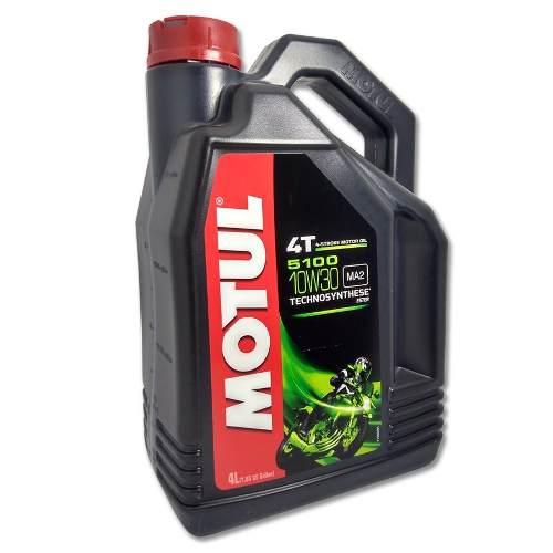 Oleo Motul 5100 10w30 Semi Sintetico Ester 4t 4 Litros