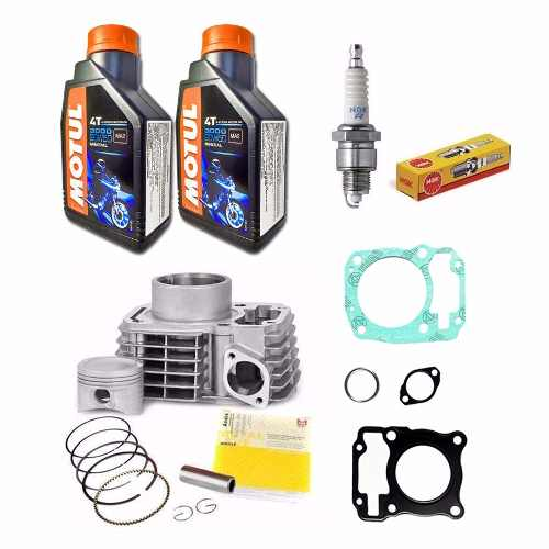 Kit Motor Titan 150 Fan Cilindro Juntas Oleo Motul Vela Ngk