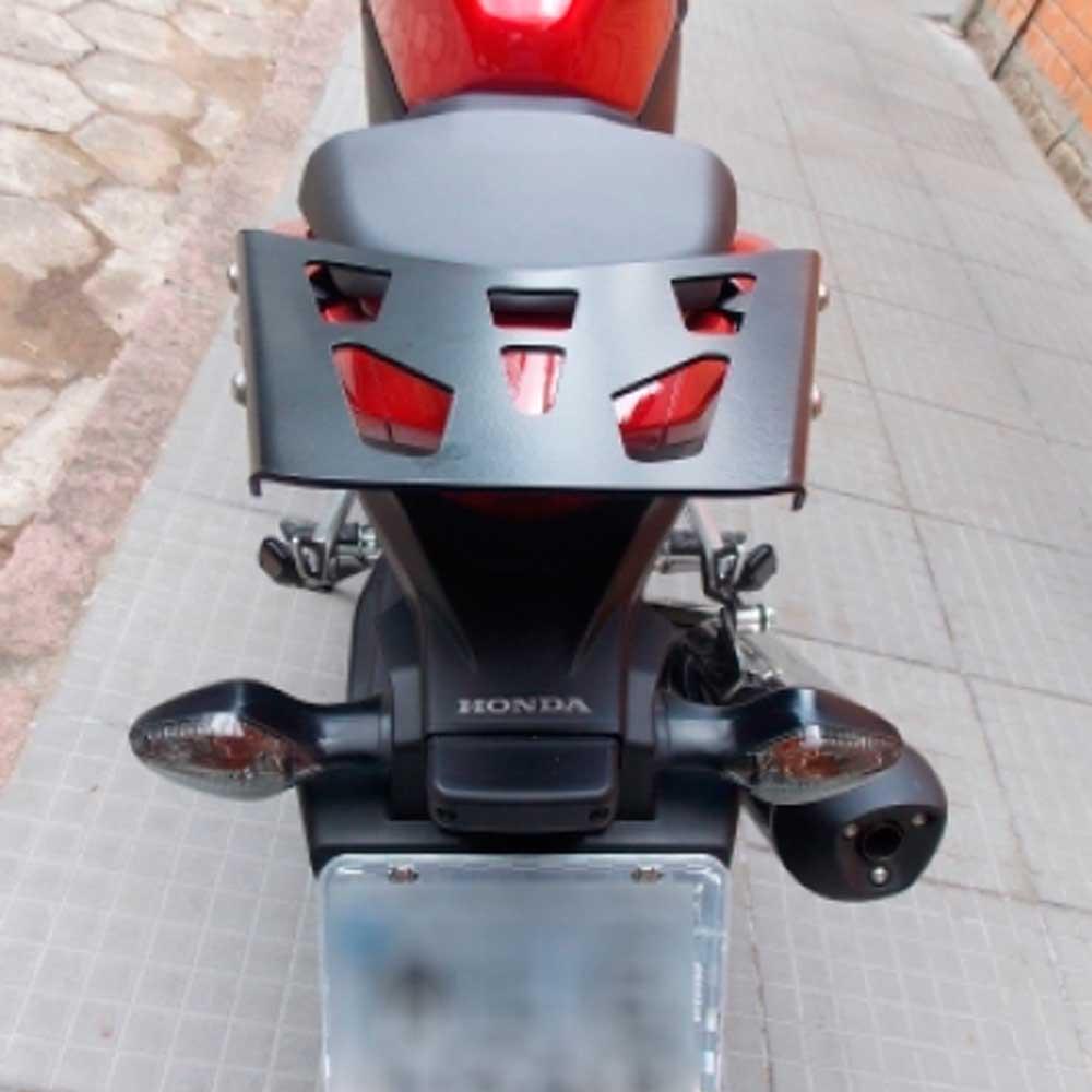 Bagageiro CBR 500R CBR500R 500 R até 2015 Suporte Bau Chapam