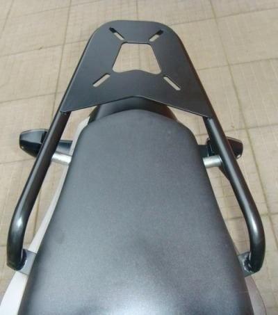 Bagageiro Chapam Tubular Hornet 600 Preto Fosco 008015