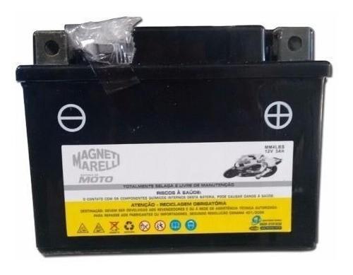Bateria 3 Ah Amperes Titan 125 Ks 2000 até 2004 Mm4lbs