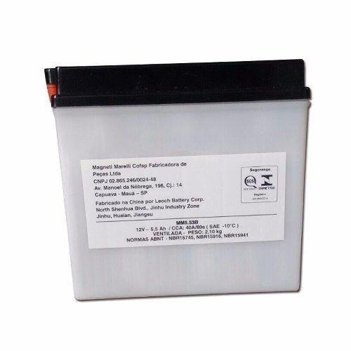 Bateria 5,5 Ah RD 135 150 RDZ 125 YBR 125 FACTOR MM5.53B
