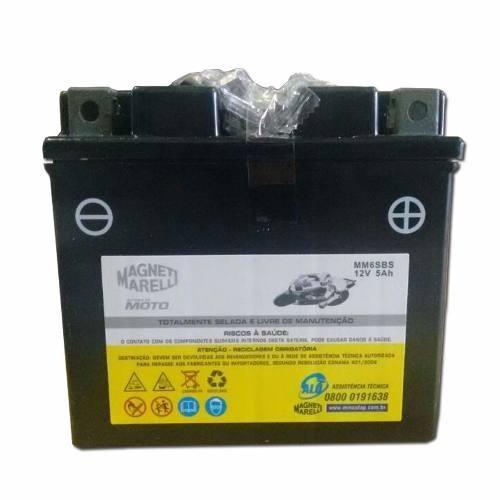 Bateria 5ah Amperes Biz 125 Es Titan Fan Xre 300 Mm6sbs