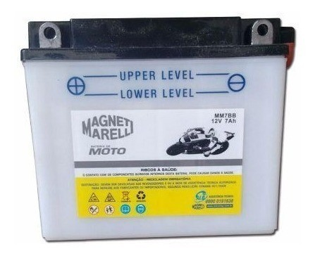 Bateria 7ah Ampere Xr 200 Neo At 115 Tdm 225 Mm7bb Yb7bb
