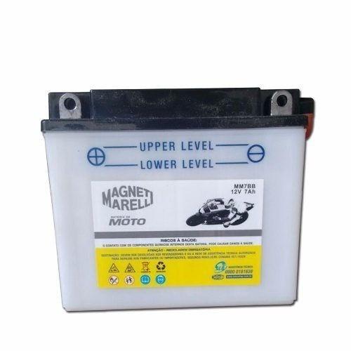 Bateria 7ah Ampere Xt 225 Mm7bb Yb7bb