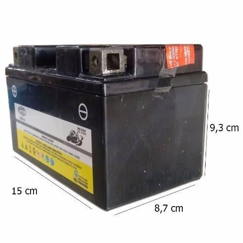 Bateria 8,6 Ah Ampere Yzf R1 Sundown Scooter Mm10sbs Ytz10bs