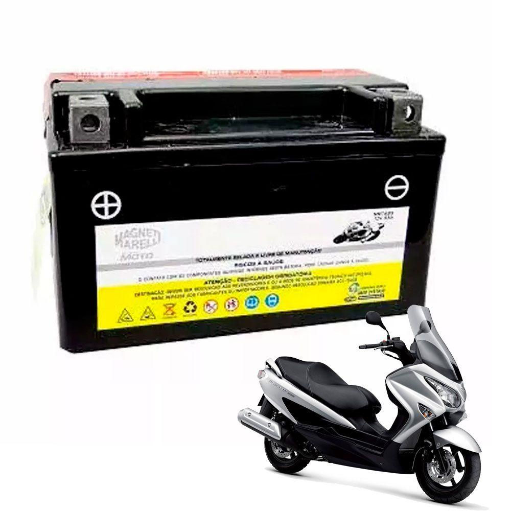 Bateria Burgman 125 6,5 Amperes Magneti Marelli MM7ABS YTX7ABS