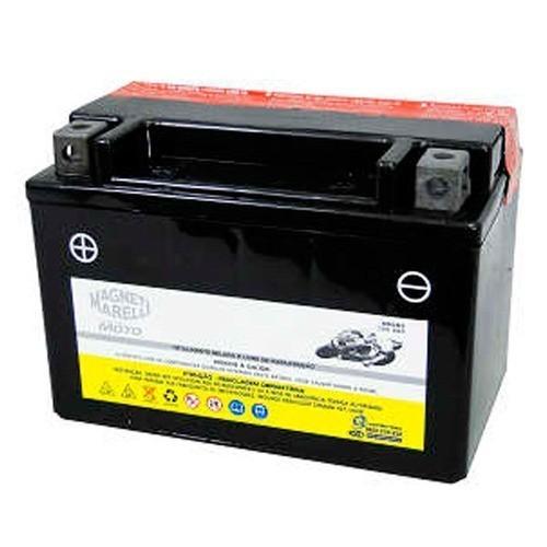 Bateria CB 500 CBR900R CBR 900R Magneti Marelli 9 Amperes