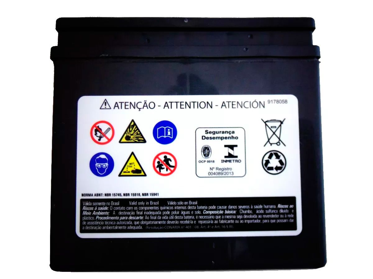 Bateria Heliar 4 Amperes Htz5l Biz 100 Ks Pop 100 Htz-bl