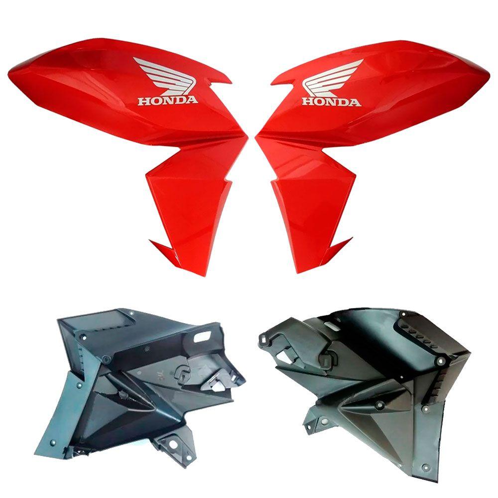 Carenagem Tanque Twister 2016 CB 250F Vermelho Original Honda