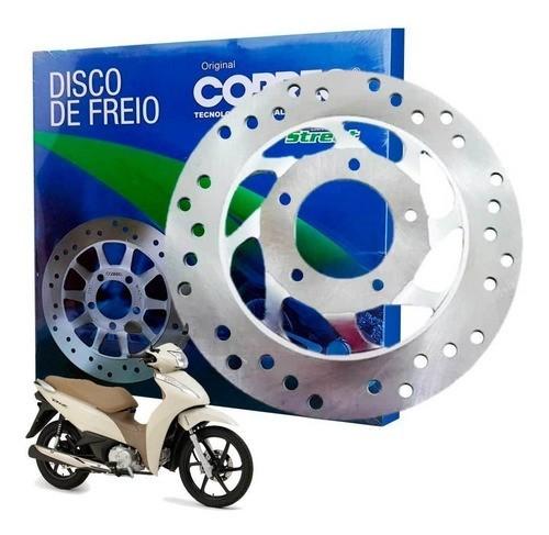Disco de Freio Dianteiro Biz 125 Cobreq Modelo Original