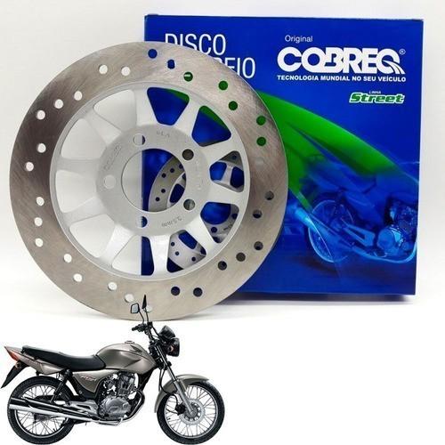 Disco de Freio Dianteiro Titan 150 ESD 2004 até 2008 Cobreq