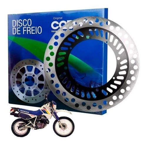 Disco de Freio Dianteiro XLX 350 350R Cobreq Original
