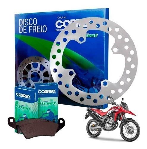 Disco de Freio Dianteiro XRE 300 + Pastilha Sem ABS Cobreq