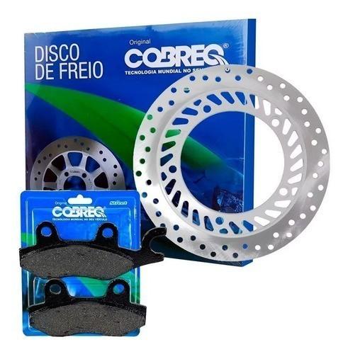 Disco de Freio Twister 250 CBX Dianteiro + Pastilhas Cobreq