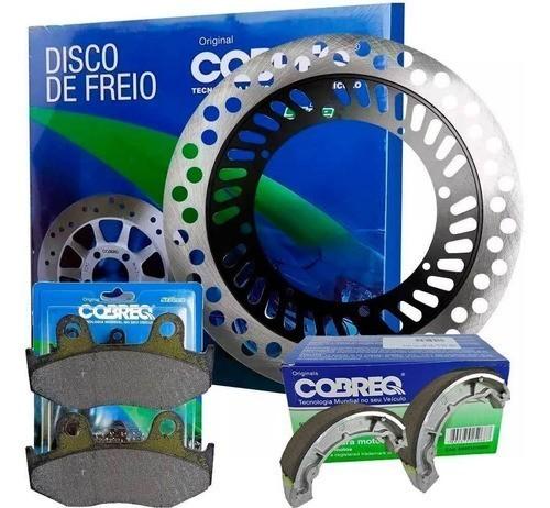 Disco de Freio XLX 350 Dianteiro + Pastilha + Lona Cobreq