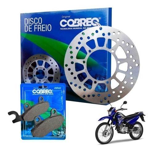 Disco de Freio XTZ 125 + Pastilha Cobreq Modelo Original