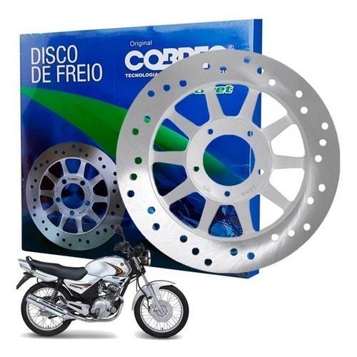 Disco de Freio YBR 125 2000 até 2008 Cobreq Modelo Original