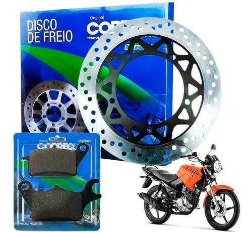 Disco de Freio Ybr 125 Factor 2016 até 2019 + Pastilha Cobreq